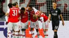 آرسنال يفوز على إنتراخت فرانكفورت في الدوري الأوروبي