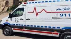 10 إصابات بحادثي تصادم في اربد وعجلون