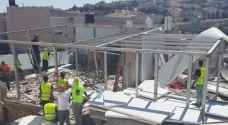 الاحتلال يهدم منزلا سكنيا ويعتدي على ساكنيه في القدس - فيديو