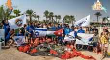 استنكار شعبي لمشاركة غواصين ومتطوعين أردنيين في تنظيف شواطئ إيلات