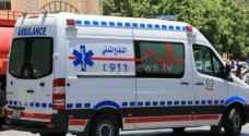 إصابة شخص بحادث غرق في مادبا