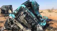 وفاة بحادث تدهور في الشيدية.. صور