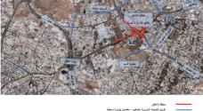 وزارة الاشغال تغلق بعض الطرق في عمان 18 شهرا لإنشاء تقاطع الإرسال الجديد