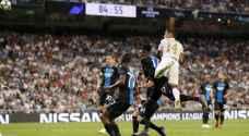 دوري أبطال أوروبا: كلوب بروج يحرج ريال مدريد وفوز ثان لسان جرمان