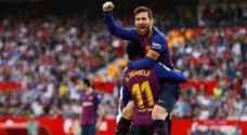 مواجهة نارية منتظرة بين برشلونة وانتر في دوري الأبطال