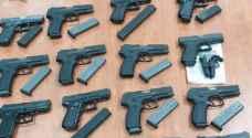 الاحتلال يعلن احباط محاولة تهريب 40 مسدسا من لبنان