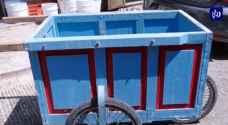 عربات النقل الخشبية..زينة البلدة القديمة في نابلس.. فيديو