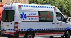 6 اصابات في حادث تدهور في عجلون