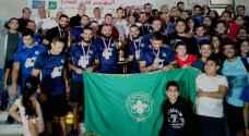 فريق كشافة عمان يتوج بلقب دوري الارثوذكسي الكروي الثاني