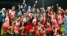 """شباب الأردن بطلا لـ """"غرب آسيا"""" للأندية النسوية"""