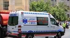 8 إصابات بحادثي سير تصادم في عمان واربد