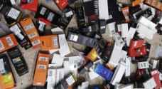 الجمارك الأردنية تحبط تهريب دخان وسجائر الكترونية