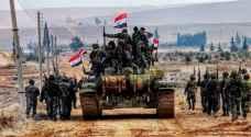 الجيش السوري يقترب من الحدود التركية