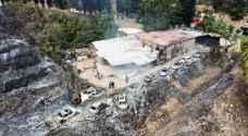 خارطة تُنشر للمرة الأولى.. هكذا توزعت الحرائق في لبنان