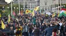 تظاهرة جديدة في باريس تضامناً مع أكراد سوريا