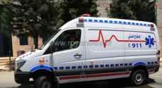17 اصابة في حادث تصادم بمحافظة جرش