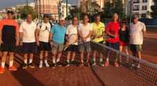 انطلاق منافسات بطولة أنطاليا لرواد التنس العرب