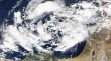 ناسا تتوقع حدوث إعصار وفيضانات قد تصل لأجزاء من الأردن .. صورة