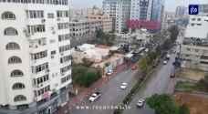 بدء تأثير المنخفض الجوي ذي الخصائص شبه الاستوائية على قطاع غزة - فيديو وصور