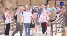 ارتفاع نسبة زوار قلعة الكرك بنسبة تزيد عن 200% - فيديو