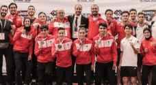 منتخب الاردن للكاراتيه سادساً في بطولة العالم