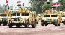 قتيل من القوات العراقية بسقوط صاروخ قرب السفارة الأمريكية وسط بغداد
