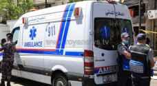 8 اصابات بحادث تصادم في اربد