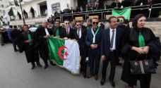 قضاة جزائريون يتظاهرون في العاصمة من أجل استقلال القضاء