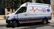 4 اصابات دهسا بعد تدهور مركبة بمحافظة الزرقاء