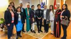 تكريم أردنيات حصلن على جائزة أفضل مشروع تكنولوجي لخدمة المجتمع بأمريكا