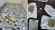 الأمن يضبط 32 شخصا من مروجي المخدرات..صور
