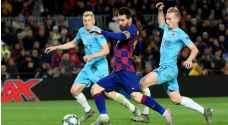 دوري أبطال أوروبا: برشلونة يتعادل مع سلافيا براغ