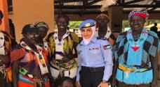 رندا الشوبكي شرطية أردنية في قلب صناعة السلام في جنوب السودان.. فيديو