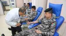 نشامى الدرك يهبون تلبية لمناشدة مواطنة بحاجة للدم.. صور
