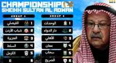 الإعلان عن جدول مباريات البطوله الوديه التي ينظمها الفيصلي