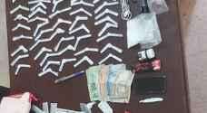حملة امنية تسفر عن القبض على 6 أشخاص من مروجي المخدرات