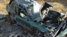 حادث تدهور ينهي حياة شاب في أربد - صور