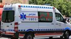 4 اصابات بتصادم خمس مركبات في البلقاء