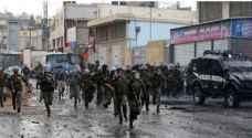 مواجهات مع الاحتلال في مخيم شعفاط