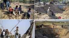 """مجزرة عائلة السواركة في غزة .. إنسانية العالم في مهب الريح """"صور"""""""