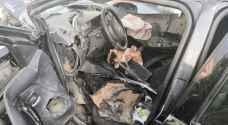 حادث سير مروع في عمان يتسبب بوفاة وإصابتين - صور