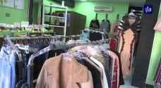 تراجع مبيعات الألبسة والاحذية 35 بالمئة خلال العام الحالي