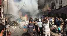 قتلى وجرحى جراء تفجير سيارة مفخخة في مدينة الباب في شمال سوريا