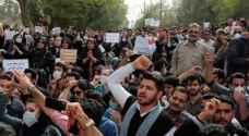 """البيت الابيض يندد باستخدام ايران """"القوة الفتاكة"""" ضد المتظاهرين"""