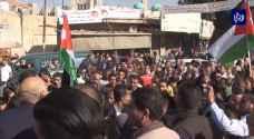 الأردنيون في الأغوار الشمالية يحتفلون باستعادة الباقورة والغمر.. فيديو