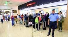 أكثر من 35 ألف مسافر بين الأردن وفلسطين في أسبوع