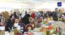 مهرجان الزيتون يستقطب الأردنيين بمنتجاته المتميزة.. فيديو