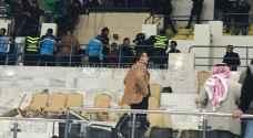 أحداث شغب في مباراة الوحدات والأهلي بدوري السلة - فيديو وصور