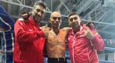 الدركي أبو حصوة ثانياً في بطولة العالم للكيك بوكسينج
