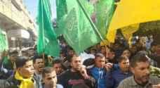 تشييع جثمان فتى فلسطيني استشهد بنيران الاحتلال في غزة
